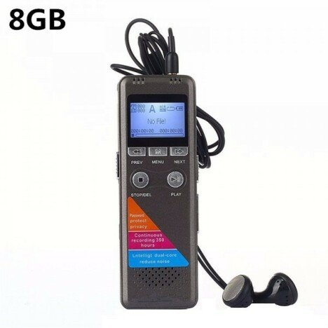 Microfon Spion Reportofon Profesional iUni SpyMic REP01, 8Gb, MP3 Player